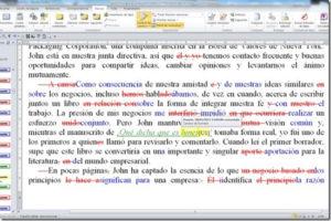 Lámina correctores ortotipográficos